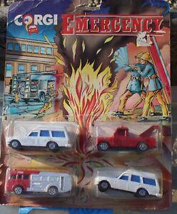 Corgi junior Fire service set 1990s nice condition