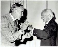 1978 Original Photo conductor Arthur Fiedler at Copley Plaza Hotel in Boston