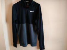 Nike Running Dri-Fit Sweatshirt Mens Large Two Tone Long Sleeve Athletic. Gear