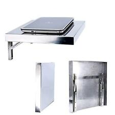 Convenient Polished stainless steel Folding Laptop Workstation,also Wall-mounted