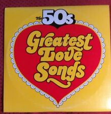 The 50's Greatest Love Songs - Golden Hits to Remember 2xLp Columbia House EX