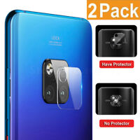 2xFor Huawei Mate 20 Pro/Lite Back Camera Lens Screen Soft Temper Glass Protect