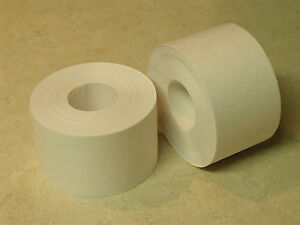 """24 ROLLS - 2"""" x 100 Feet Each - Water Activated WHITE KRAFT PAPER TAPE"""