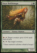 Naya Battlemage EX/NM X4 Shards Of Alara MTG Magic Cards Green Uncommon