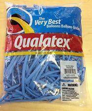 Qualatex Pale Blue 260Q Entertainer Balloons ~ 100 ct.