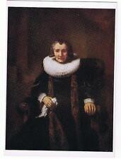PORTRAIT OF MARGARETHA TRIP  - NATIONAL GALLERY REMBRANDT CARD NO. 1202 POSTCARD