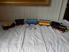 Lego system ville -182 train vintage 1977 locomotive  4 wagons