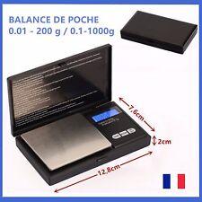 Balance Electronique de Precision 0.01-200g / 0.1-1000g Cuisine Poche Bijoux
