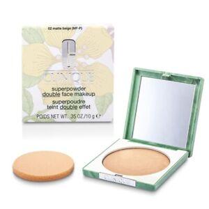 NEW Clinique Superpowder (No. 02 Matte Beige; ) 10g/0.35oz Womens Makeup