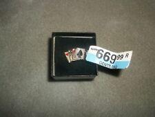 NWT 10k Yellow Gold Men's Poker Ring Size 13