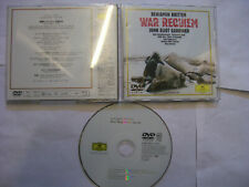 BENJAMIN BRITTEN/John Eliot Gardiner: War Requiem – Japanese DVD Region 0 - RARE
