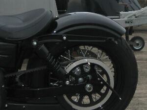 Harley Heckfender Bobber Sportster 48 Iron Fender Gecleant