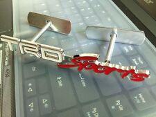 3D Metal TRD Sport Grill Badge Emblem Decal Supra Starlet Yaris Celica Auris JDM