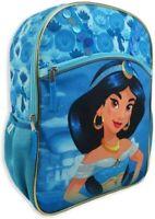 "16"" Princess Jasmine Backpack with Adjustable Straps School Travel Girls Aladdin"