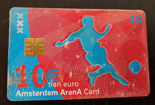 Amsterdam Arena Card 2003 10 Euro A day at the Amsterdam ArenA