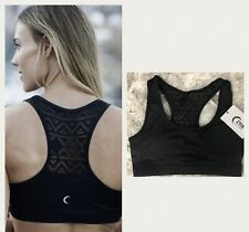 Zyia Bomber Bra Women Sports Athletic Workout Black Sz XL