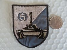 Vietnam War Patch ARVN 5th Armored TANK Battalion