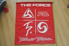 Tim Phares Fluid Drive The Force Epic Ocean Blue Cheer Surfing 30x33in. Banner