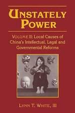 Unstately potere: locale cause della Cina in materia di intellettuali, legali e governative R