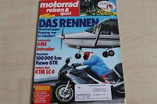 164751) Kawasaki 1000 GTR Dauertest - Motorrad Reisen Sport 18/1988