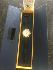 Stauer Men's Magnificat II Automatic Watch with Gold Fused Case 20194 - New