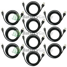 10 Black USB Charger Cable for Motorola RAZR RAZOR V3 V3C V3i V3M V3R V3T V3X