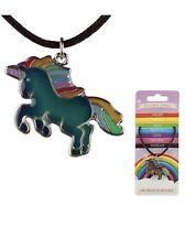 Unicorn Mood Necklace - Colour Changing Necklace /Unicorn Gift /EnchantedRainbow