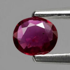 Rare 0.24ct 4.5x4mm Oval Natural Unheated Top Red Ruby Mozambique #20