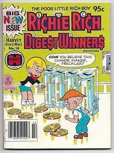Richie Rich Digest Winners #14 (Harvey, 1982) – Little Dot – Little Lotta – VF+