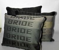 JDM BRIDE PILLOW Graduation for Drift Race School, Car back seat cushion gift