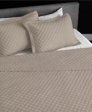 Jennifer Adams King Quilted Blanket + Shams Silver Gray