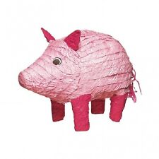 Pink Pig Party Pinata - Fun games for animal parties