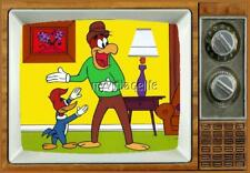 "WOODY WOODPECKER TV Fridge MAGNET 2"" x 3"" SATURDAY MORNING CARTOONS"