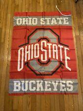 Ohio State Buckeyes Ncaa Football Flag Banner 36 X 47 Indoor Outdoor Patio