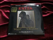 Madonna SEALED Evita Eva THX GOLD Promo Hype Sticker Laserdisc Box Set Mint Lot