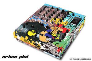 Skin Decal Wrap for PIONEER DJM-900 DJ Mixer CD Pro Audio DJM900 Parts URBAB PHD