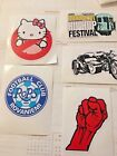 Skateboard Stickers, Set of 5, Street Series Number 1158-11292018, Free Shipping