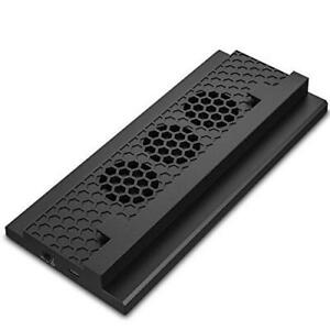 MoKo Xbox One S Cooling Dock, Vertical Stand Built-in 3 High Speed Fans, 2-Port