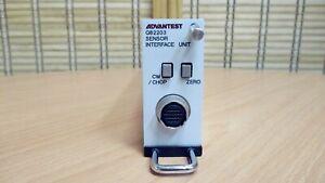【Kang Rong Scientific】Advantest Q82203 Optical Power Interface Module