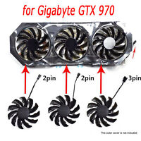 75mm DC12V T128010SM 2pin/3pin Graphics Card Cooling Fan for Gigabyte GTX 970 HY
