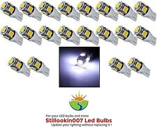 20 - T5 Low Voltage Landscape Light LED conversion 5 Cool White led's per bulb