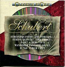 """CD - Franz Schubert – Streichquartett """"Die Forelle"""" – Wanderer Fantasie"""