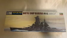 Vintage Model Kit Japanese Battleship Haruna 1:700