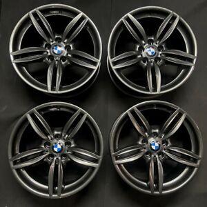 "Genuine BMW 351M 19"" Alloy Wheels 5/6 Series Gun Metal Grey F10 F11 F12 F13 F06"