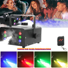 1500W Nebelmaschine Bühnenlicht DJ Party Bar Nebeleffekt RGB 6 LED Rauchmaschine