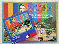 Mister Rogers Neighborhood 500 piece jigsaw puzzle - FREE shipping