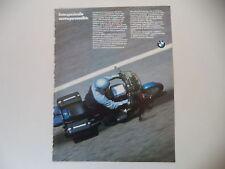 advertising Pubblicità 1985 MOTO BMW R65 R 65