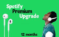 Spotify Premium 🎶 1 Year 🎶 Read the description 🎶
