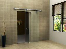 Glas Schiebetür CLEAR 90 x 205 cm Klarglas Raumteiler Raum Trenner