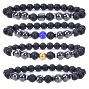 Adjustable Weight Loss Magnet Anklet Anti-Swelling Black Obsidian Anklet Healthy